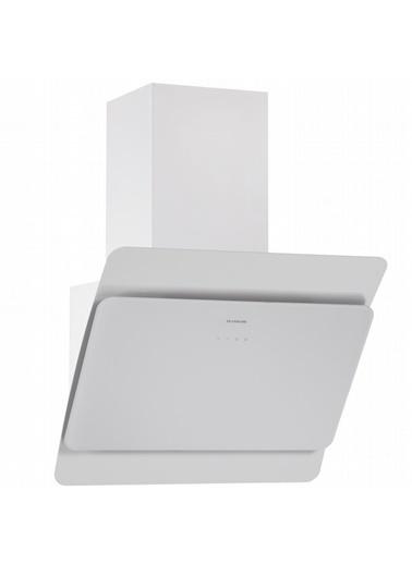 Silverline 3444.6.110.04 Radial 60 Cm Beyaz Ankastre Davlumbaz Renkli